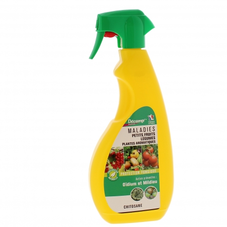 Traitement pour légumes, fruits et plantes aromatiques Décamp Radical - pulvérisateur 750ml
