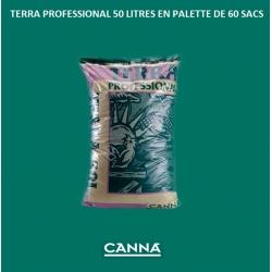 TERRA PROFESSIONAL 50 litres Canna en palette de 60 sacs