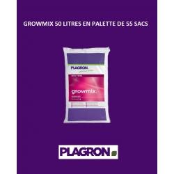 GROWMIX 50 litres Plagron en palette de 55 sacs