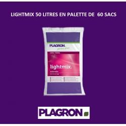 LIGHTMIX 50 litres Plagron en palette de 60 sacs