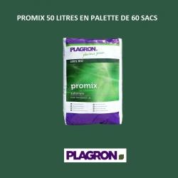 PROMIX 50 litres Plagron en palette de 60 sacs