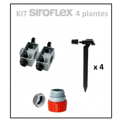 Kit irrigation 4 plantes SIROFLEX