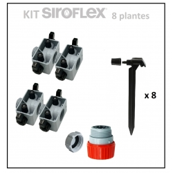 Kit irrigation 8 plantes SIROFLEX