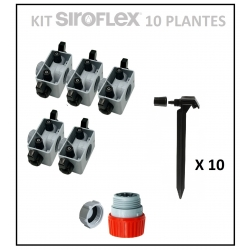Kit irrigation 10 plantes SIROFLEX