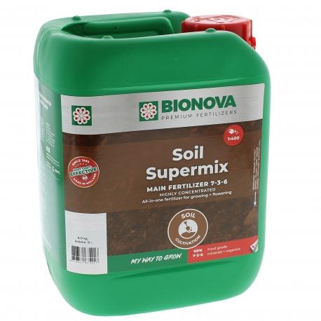 Engrais Soil SuperMix Bio Nova en bidon de 5 litres