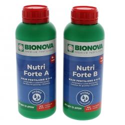 Engrais hydroponique Nutri Forte A+B 1 litre - Bio Nova