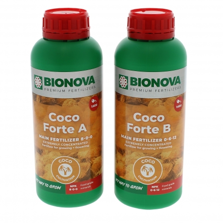 Engrais Coco Forte A+B en litre Bio Nova