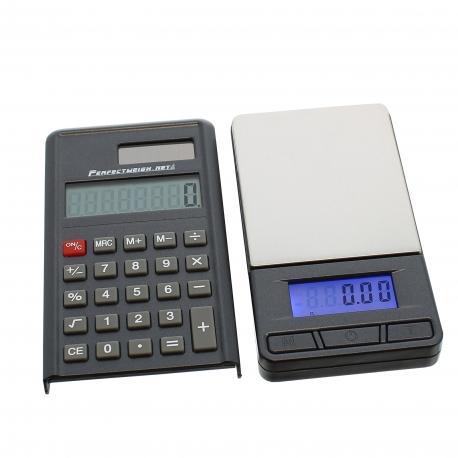 Balance de poche calculatrice 0.01g - 300gr max
