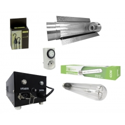 Kit cooltube 400W et HPS Agrolight