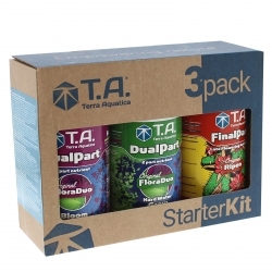 Starter kit DUALPART eau dure - Terra Aquatica