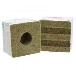 Cube de laine de roche Grodan 10x10cm
