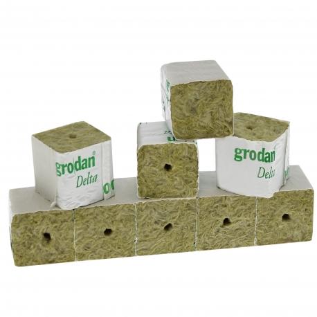 Cube de bouturage Grodan 4x4cm - vendu à l'unité
