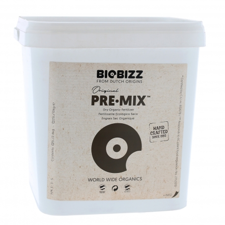 Pre Mix 5 litres Biobizz