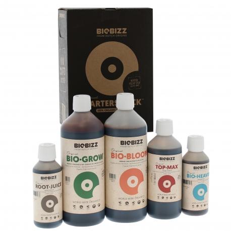 Starters Pack d'engrais Biobizz