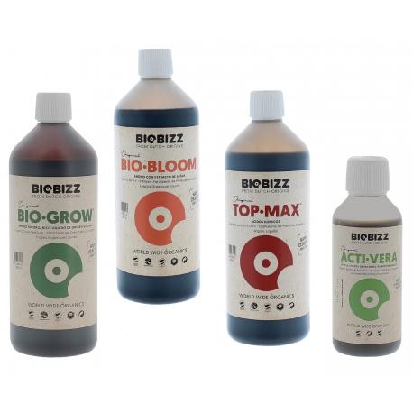 Pack engrais Biobizz 3 x 1 litre