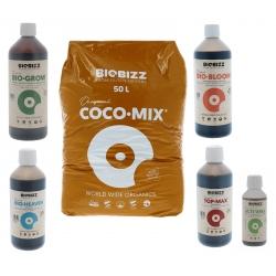 Pack Coco-Mix 50 litres Biobizz + engrais