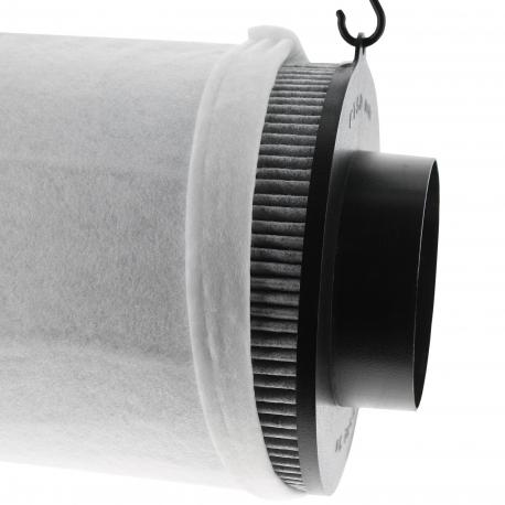 Proactiv 400m3/h - filtre au charbon actif - sortie 125mm