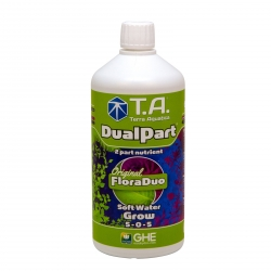 Dualpart Grow 1 litre - eau douce Terra Aquatica