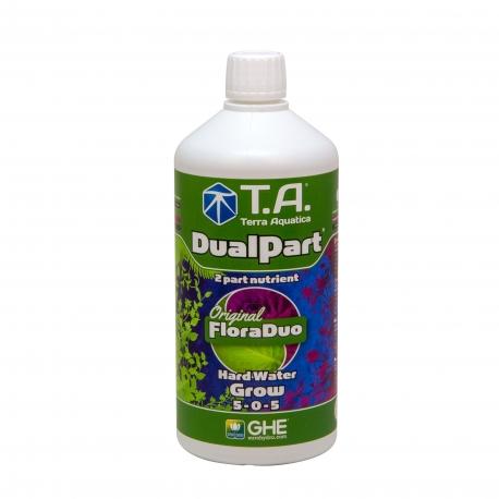 Dualpart Grow 1 litre eau dure - Terra Aquatica
