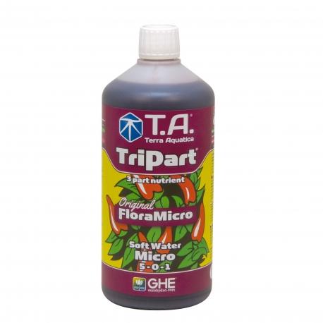 Tripart Micro eau douce 1 litre - Terra Aquatica