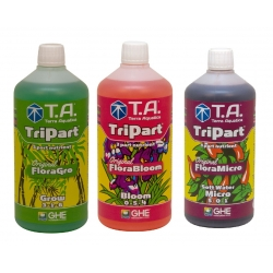 Starter kit TRIPART eau douce en litre - Terra Aquatica