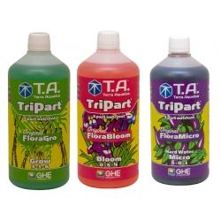 Starter kit TRIPART eau dure en litre - Terra Aquatica