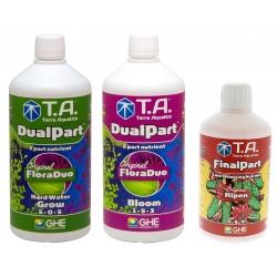 Starter kit DUALPART eau dure en litre - Terra Aquatica