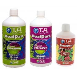 Starter kit DUALPART eau douce en litre - Terra Aquatica