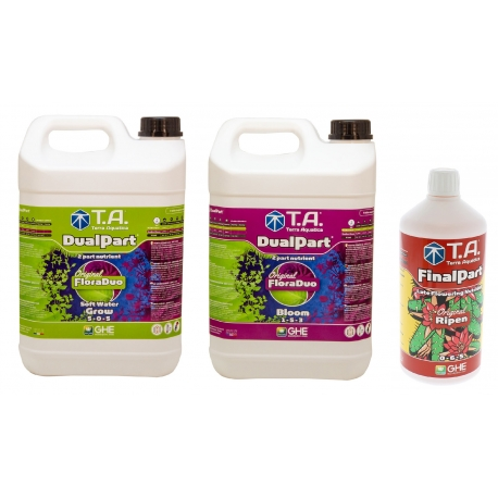 Starter kit DUALPART eau douce 5 litres - Terra Aquatica