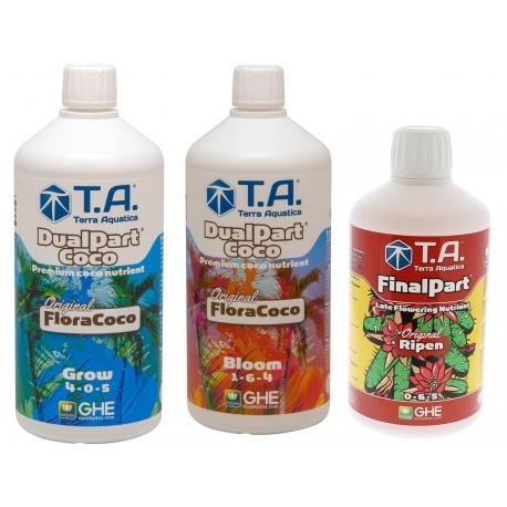 Starter kit DUALPART COCO en litre - Terra Aquatica