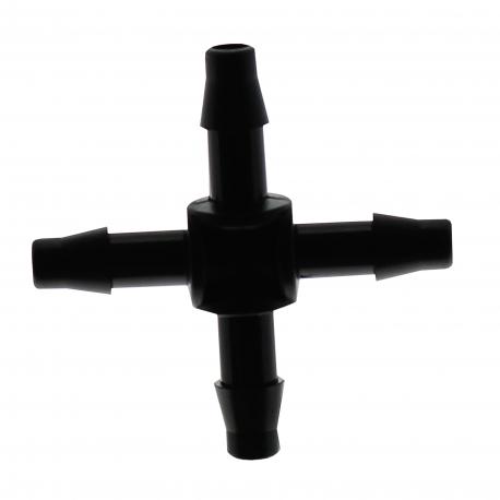 Croix 4mm pour micro-irrigation