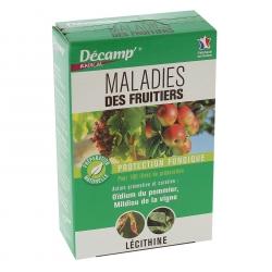 Traitement fongicide pour fruitiers 75gr - Décamp Radical