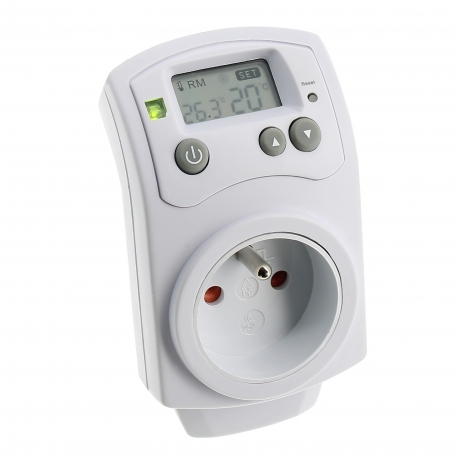 Prise thermostat inversable Cornwall Electronics