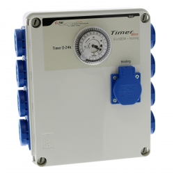 GSE Timer Box 8 X 600W + prise chauffage