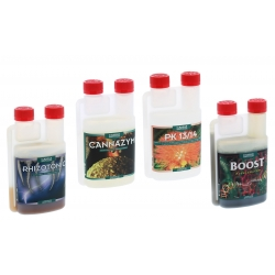 Pack stimulants et boosters CANNA - 4 x 250ml