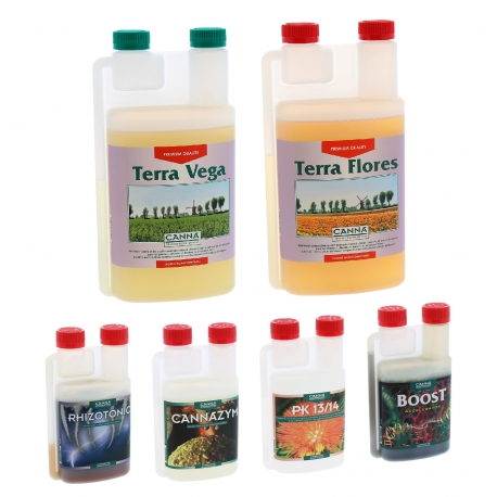 Pack engrais TERRA Vega & Flores CANNA
