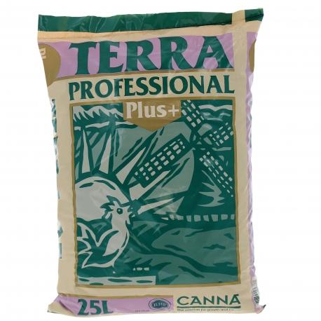 Terra Professional Plus en sac de 25 litres Canna