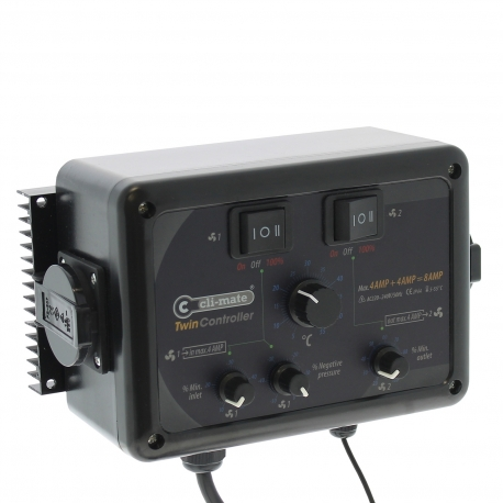 Twin-Controller 4+4 Amp Cli-Mate