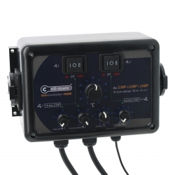 Twin Controller Humidity 12+12 Amp Cli-Mate
