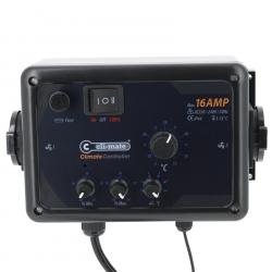 Contrôleur de température + hystérésis 16 Amp - Cli-Mate