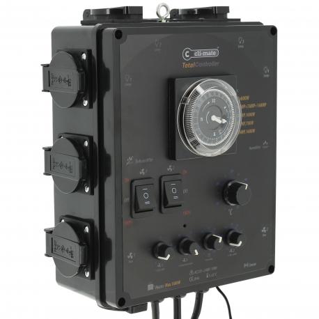 Total Controller 4x600W + Ventilation/T°/Humidité