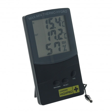 Thermomètre / Hygromètre avec sonde Garden Highpro