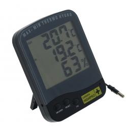 Thermomètre hygromètre avec sonde Garden Highpro