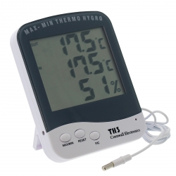 Thermomètre hygromètre avec sonde - Cornwall Electronics