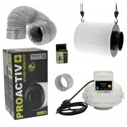 Kit ventilation - extracteur Prima Klima + filtre au charbon