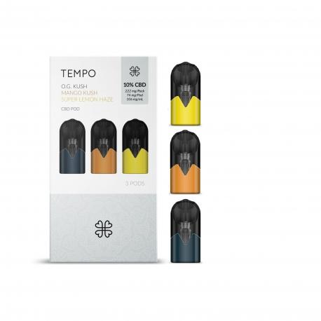 3 dosettes Tempo saveurs ORIGINALS Harmony