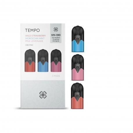 E-Liquid CBD TEMPO classiques Harmony