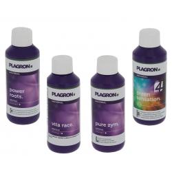 Pack additif et stimulant Plagron 4x100ml
