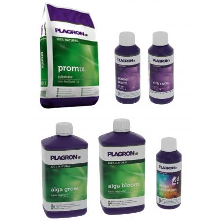 Pack Promix 50 litres + engrais Alga Plagron