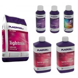 Pack Lightmix 50 litres + engrais Terra 1 litre - PLAGRON